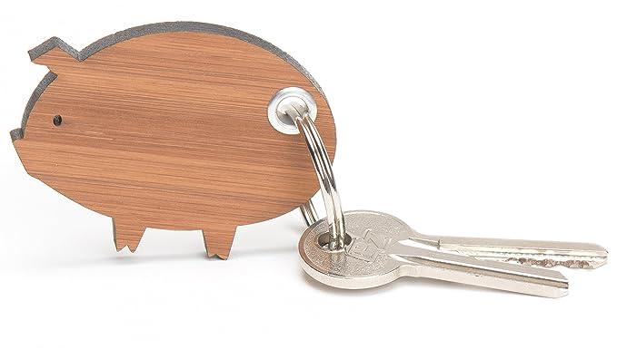 Señor & señora Panda llavero cerdo Classic - 100% hecha a ...