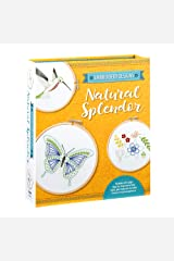 Embroidery Designs: Natural Splendor: Everything You Need to Stitch 12 Natural Designs Paperback