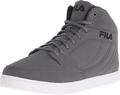 a8ce9459354a1 Amazon.com | Fila Men's Fairfax Casual Sneakers, Grey Synthetic, 13 M |  Fashion Sneakers