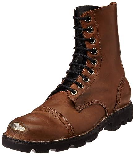 972e40ec6acc07 DIESEL Men s Ankle-Boot Style Brown Size  6