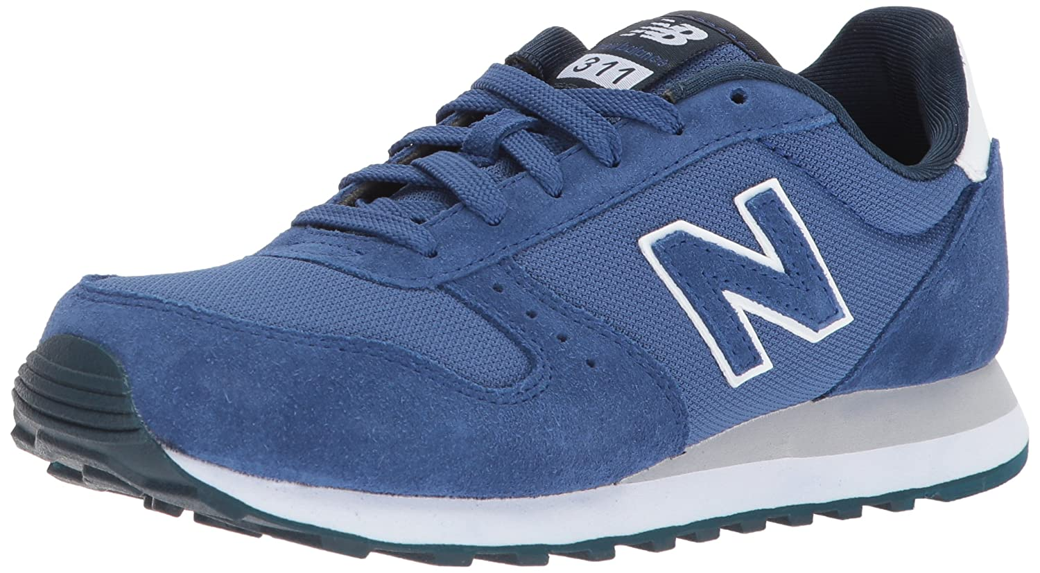 New Balance Men's 311V1 Sneaker 11 2E US|Atlantic/White
