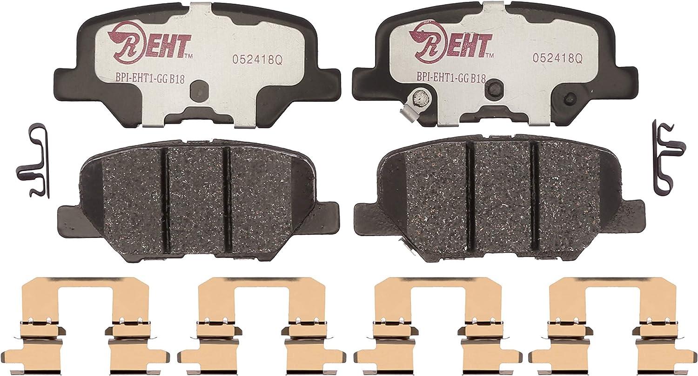 Disc Brake Pad Set-Element3 Hybrid Technology Front Raybestos EHT707H