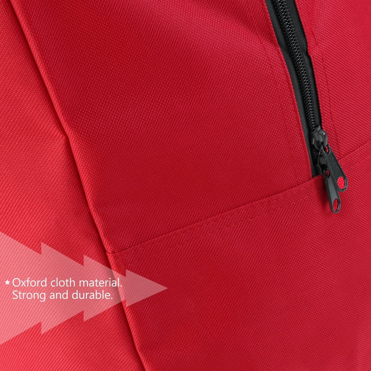 Red 46*25*38cm Nicexmas Sac de rangement pour sapin de No/ël