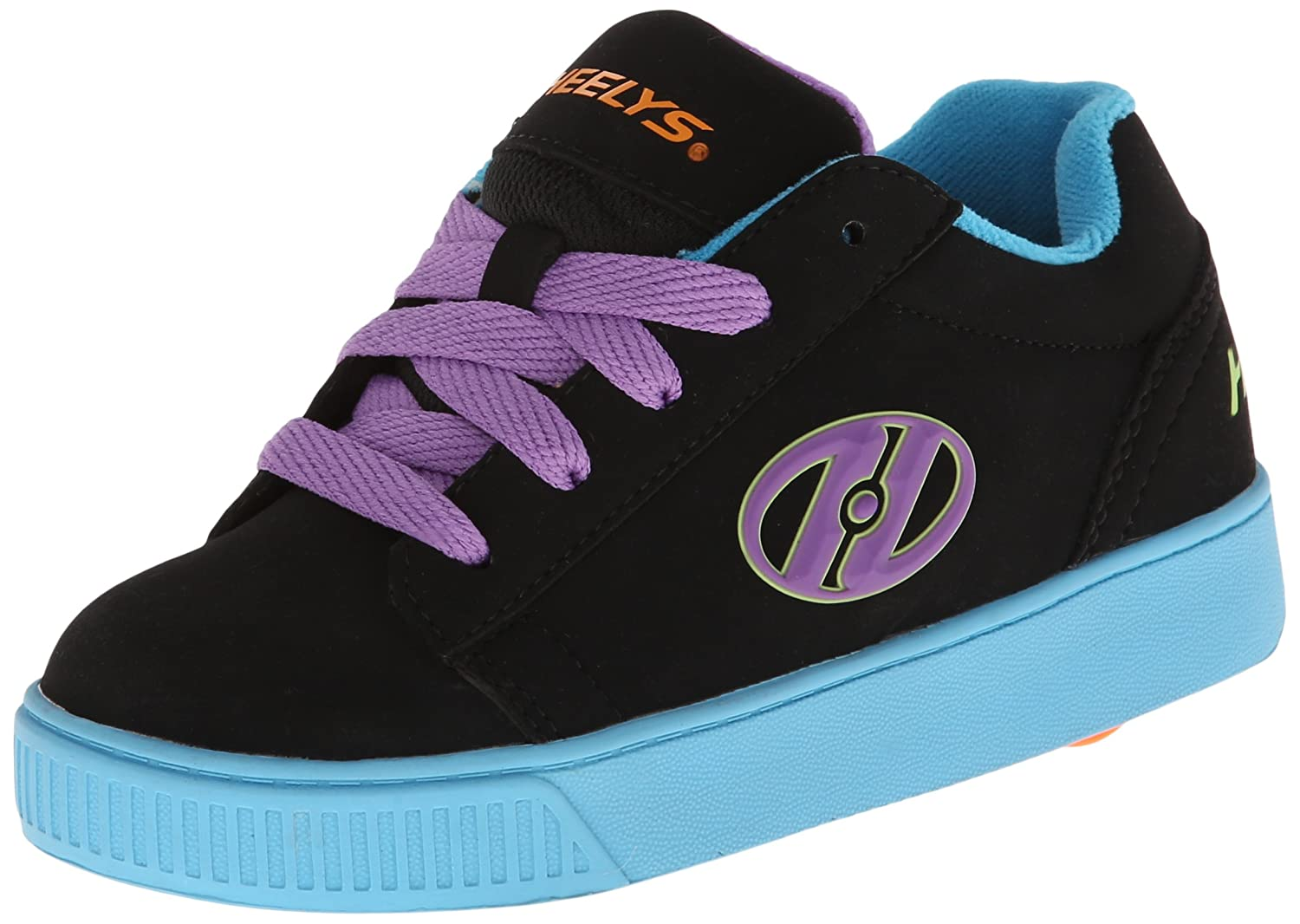 Heelys Straight Up Skate Shoe (Little Kid/Big Kid) B00DDY2SQE 1 M US Little Kid|Black/Blue