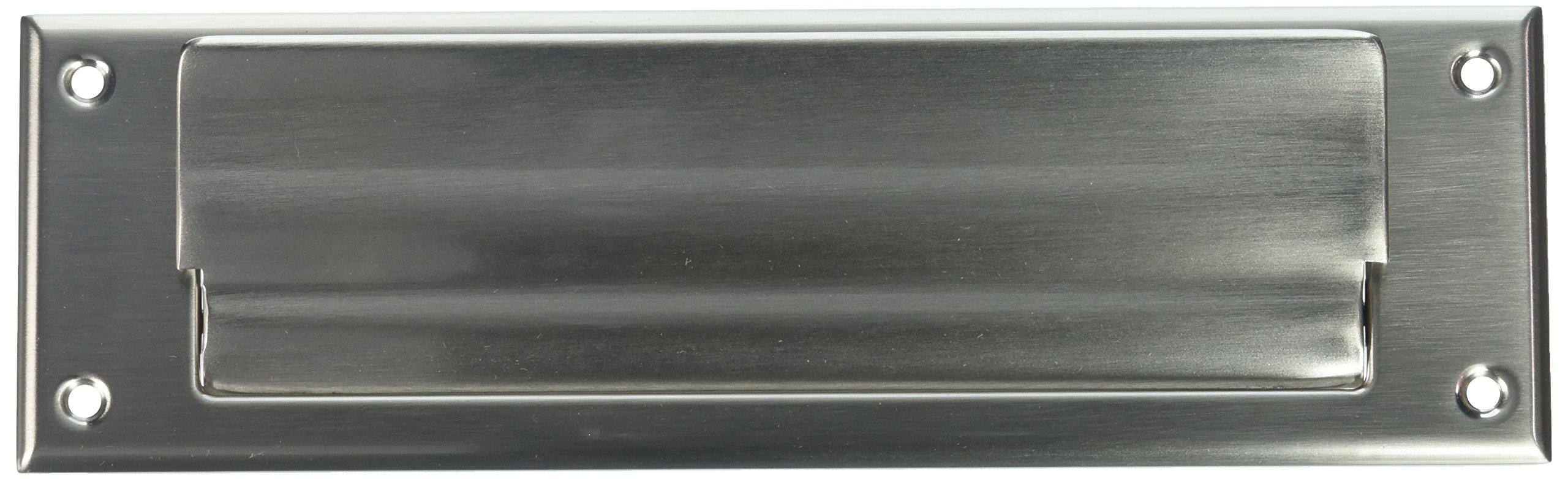 Baldwin 0015150 Letter Box Plate, Satin Nickel
