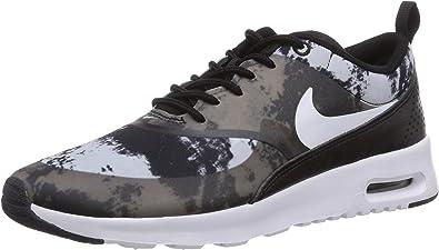Nike Air Max Thea Print, Chaussons Sneaker Femme