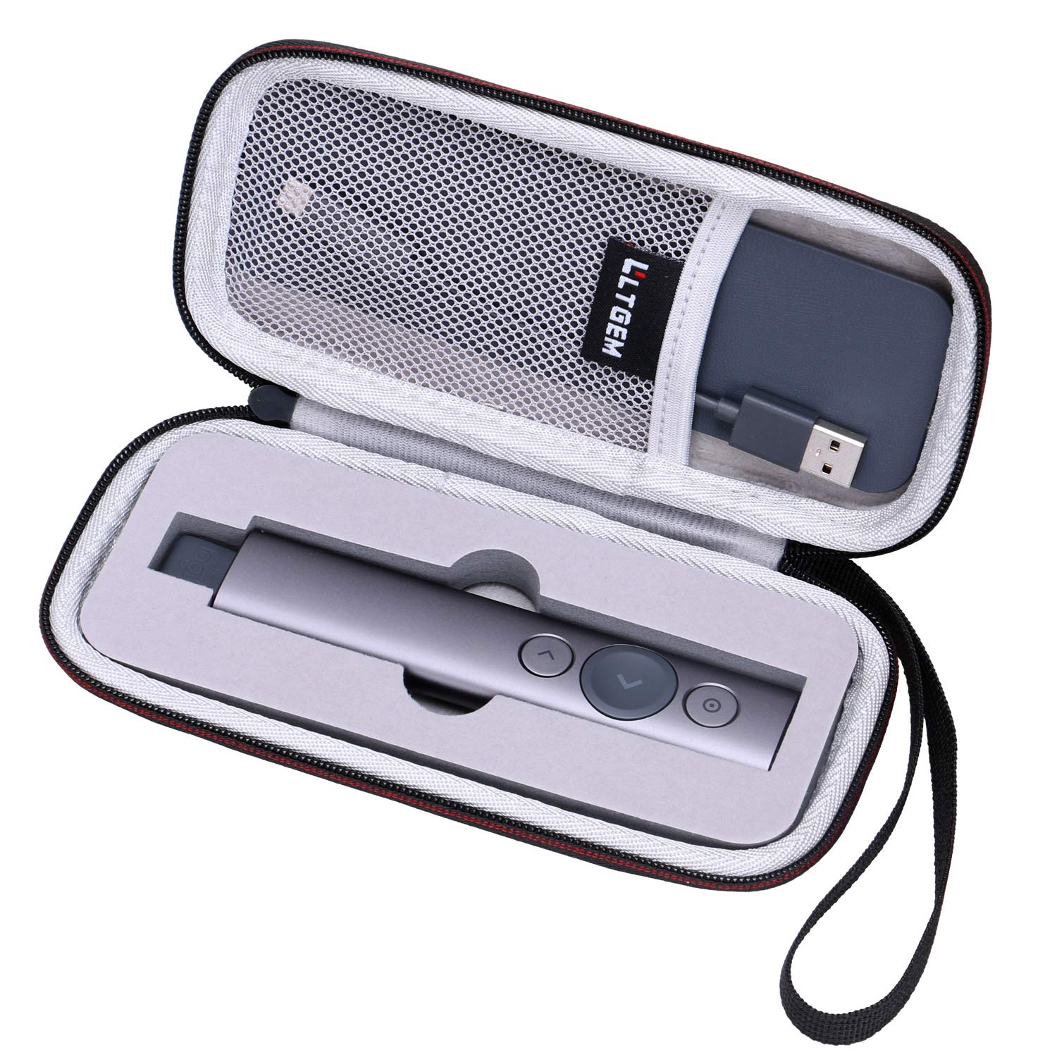 LTGEM Hard Travel Carrying Case for Logitech Spotlight Bluetooth Presentation Remote
