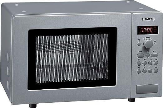 Siemens HF15G541 - Microondas de acero inoxidable (17 litros, 800 ...