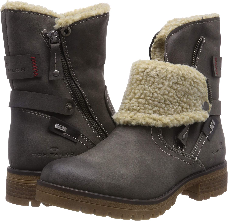 TOM TAILOR Damen 5891003 Stiefeletten: : Schuhe