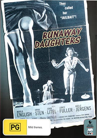 Runaway Daughters: Edward L  Cahn, Anna Sten, Lance Fuller
