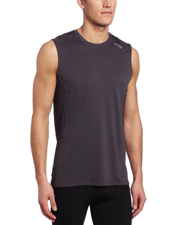 Asics Herren Favorite SL Shirt, Herren, Stahl, Medium