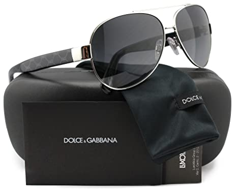 6b148fd8ddcb Dolce   Gabbana DG2118P D G All Over Aviator Polarized Sunglasses ...