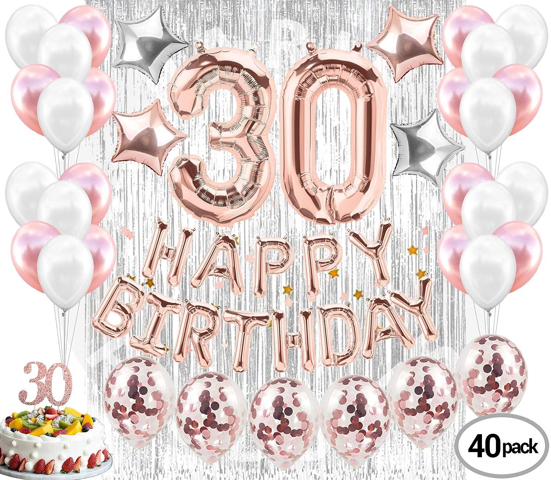 Amazon 30th Birthday Decorations