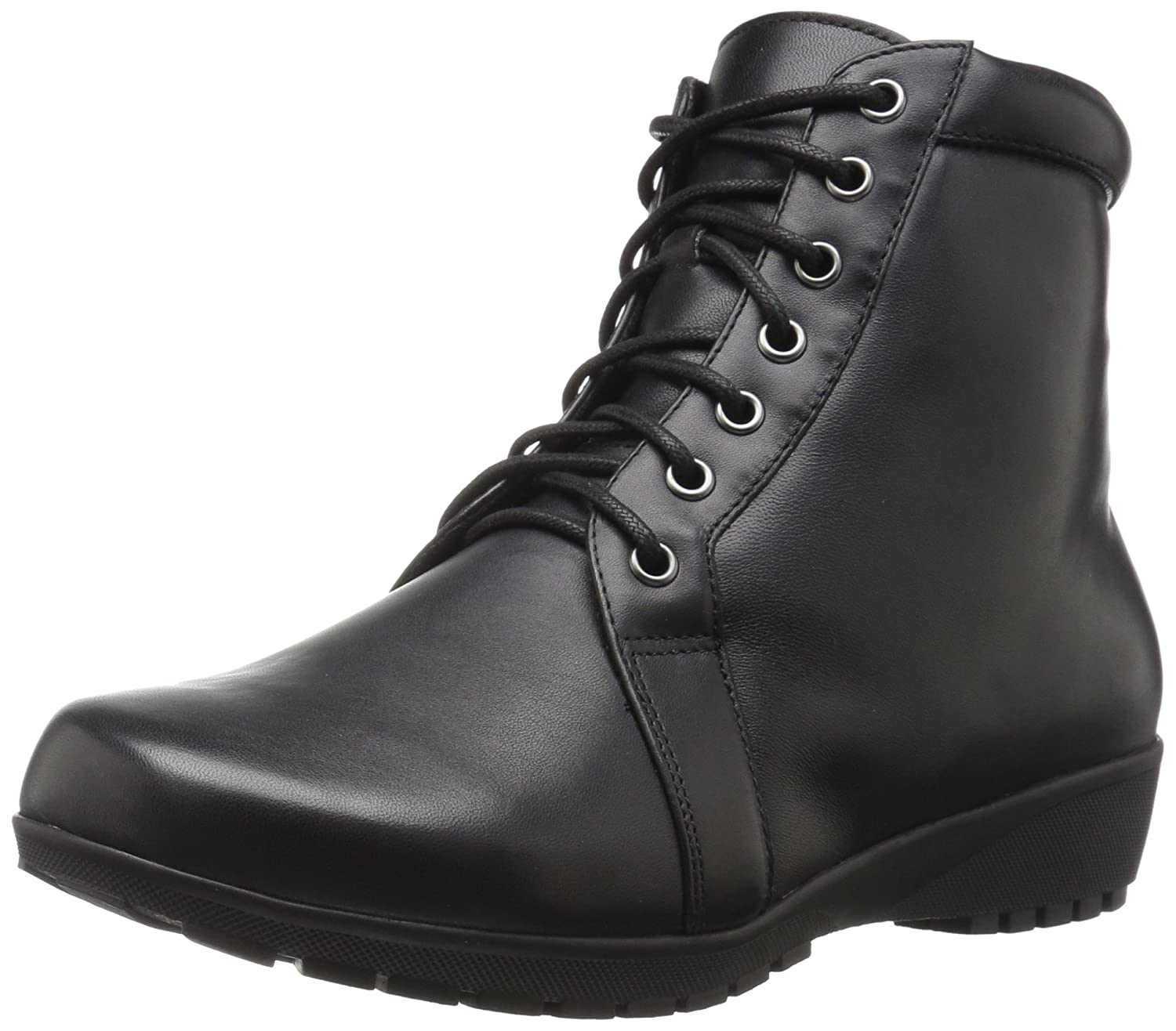 Walking Cradles Women's Ziggy Ankle Boot B01MZDL8Q5 9 B(M) US|Black Nappa Leather