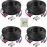 ANNKE 4 Pack 30M/100ft All-in-One Video Power Cables