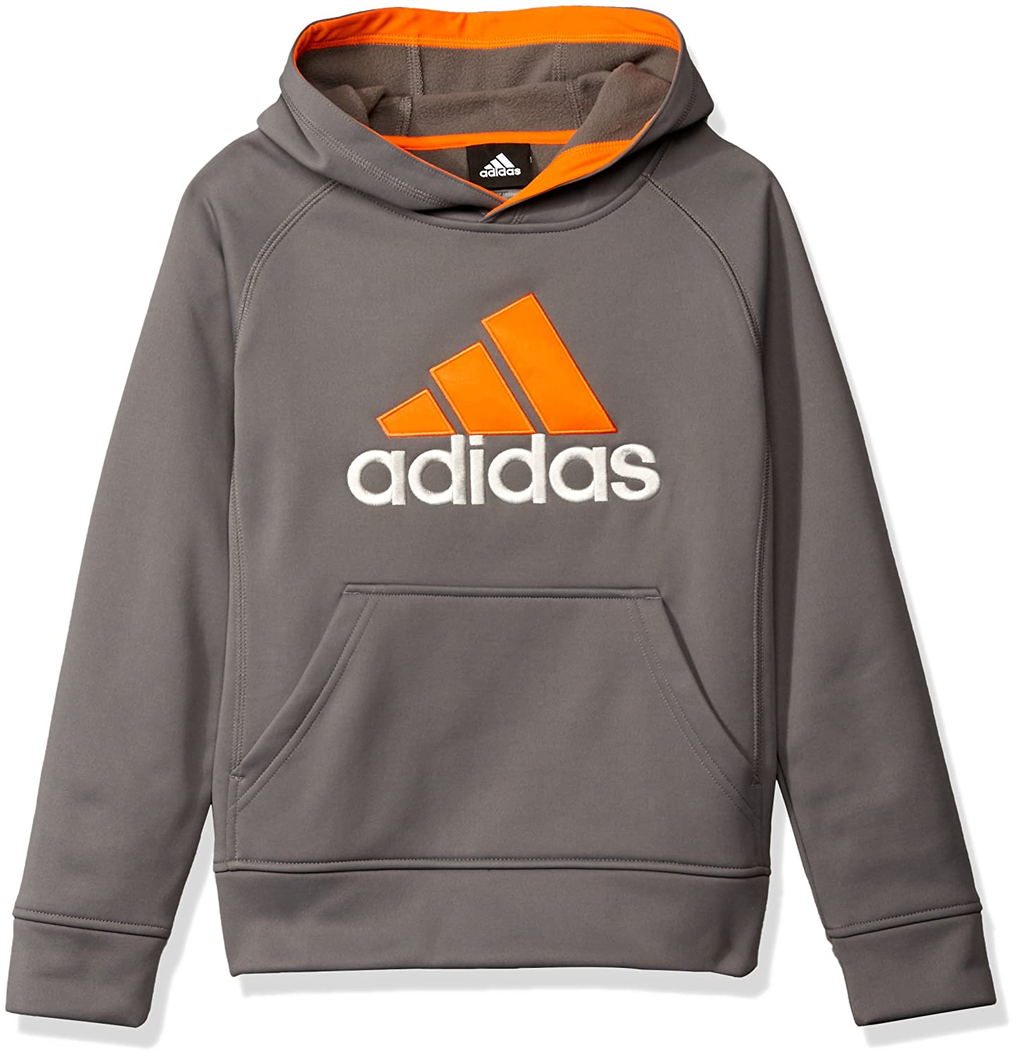 adidas Boys Big Boys Po Tech Fleece Hoodie BABA7T79 A2S