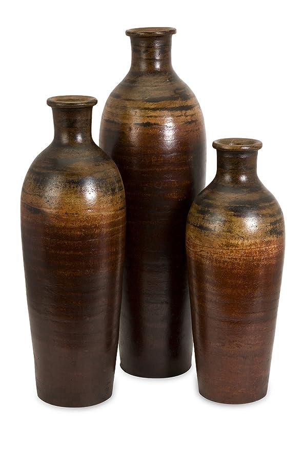 Amazon Imax 6901 3 Benito Vases Set Of Three Home Kitchen