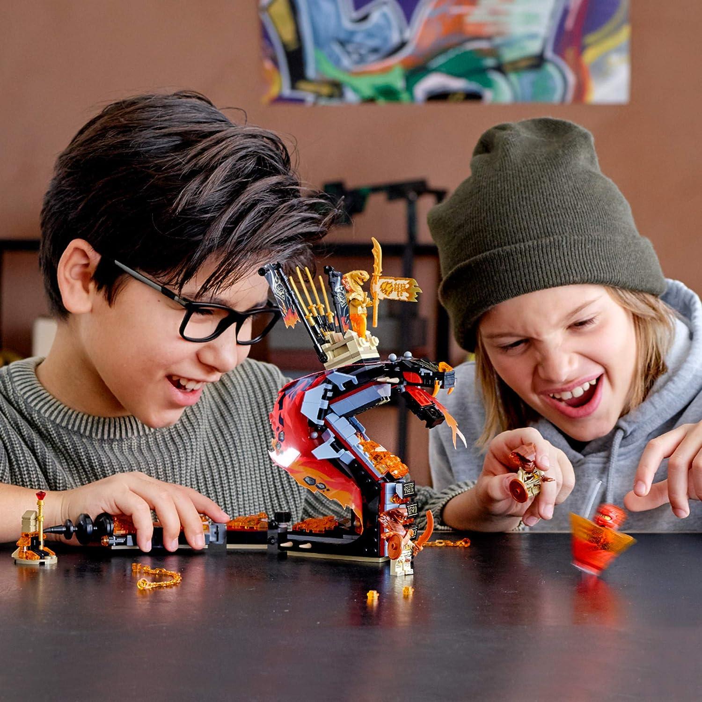 Lego Ninjago Minifigure Kai FS From Set 70674