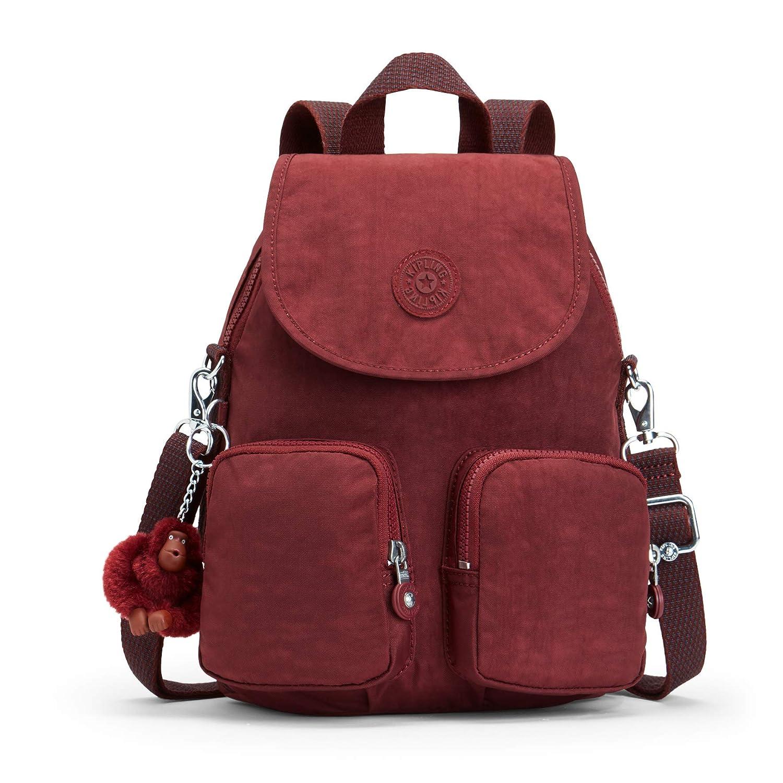 Kipling Damen Firefly Up Rucksack, 22x31x14 cm B07BHBCMM9 Rucksackhandtaschen In hohem Grade geschätzt und weit Grünrautes herein und heraus
