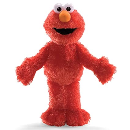 Amazon Com Gund Sesame Street Elmo 13 Plush Toy Toys Games