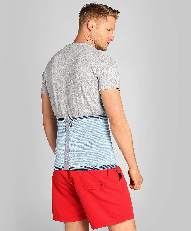 Size 4 - Beige previene e cura la lombalgia - /®BeFit24 Fascia Lombare contro il mal di schiena Cintura per la Sciatica- Ideale per patologie degenerative del disco