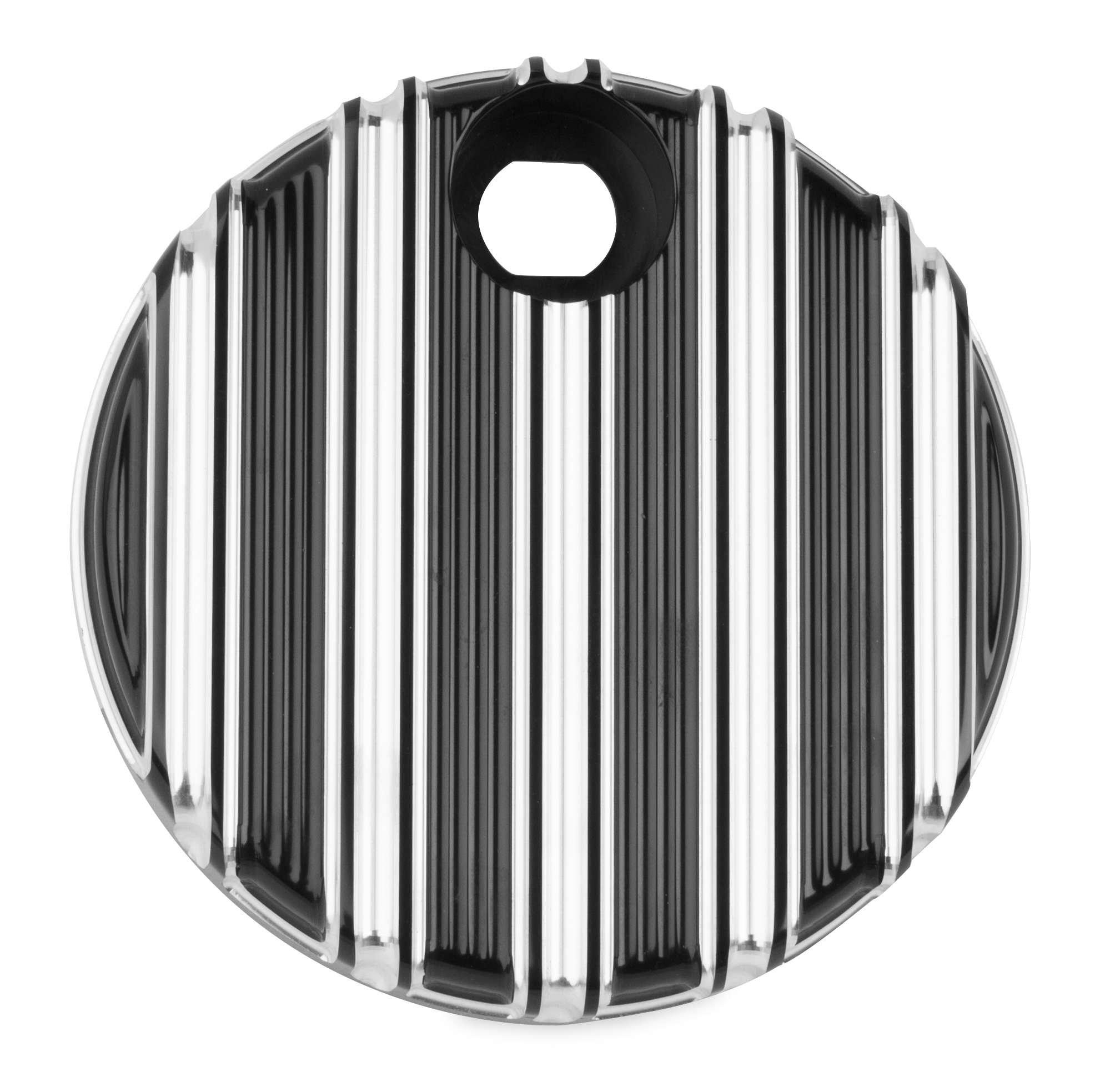 Arlen Ness 04-217 Fuel Door - 10-Gauge - Black