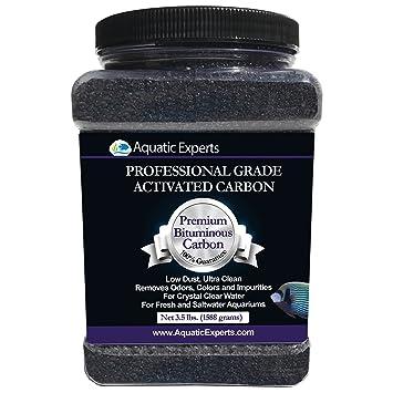 amazon com aquatic experts premium activated carbon aquarium