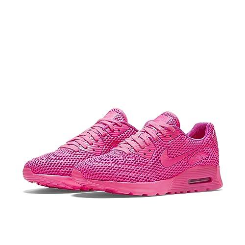 free shipping e629a e5804 Nike Women's Air Max 90 Ultra Breathe Pink Blast/Fire Pink ...