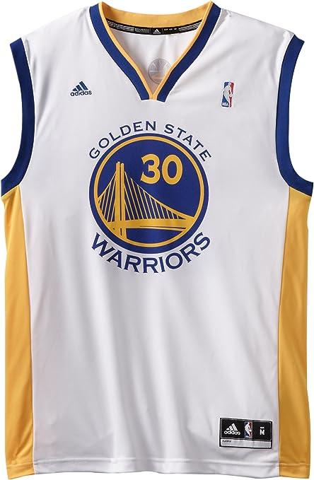 buscar auténtico mejor baratas compras Amazon.com : NBA Men's Golden State Warriors Stephen Curry Replica ...