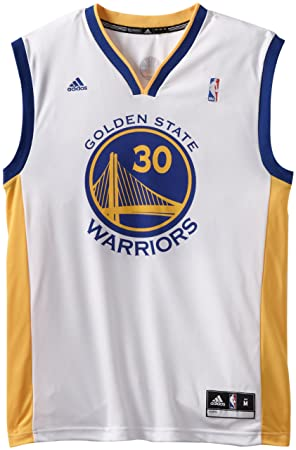 Adidas Camiseta para Hombre de la NBA, de los Golden State Warriors, Stephen Curry