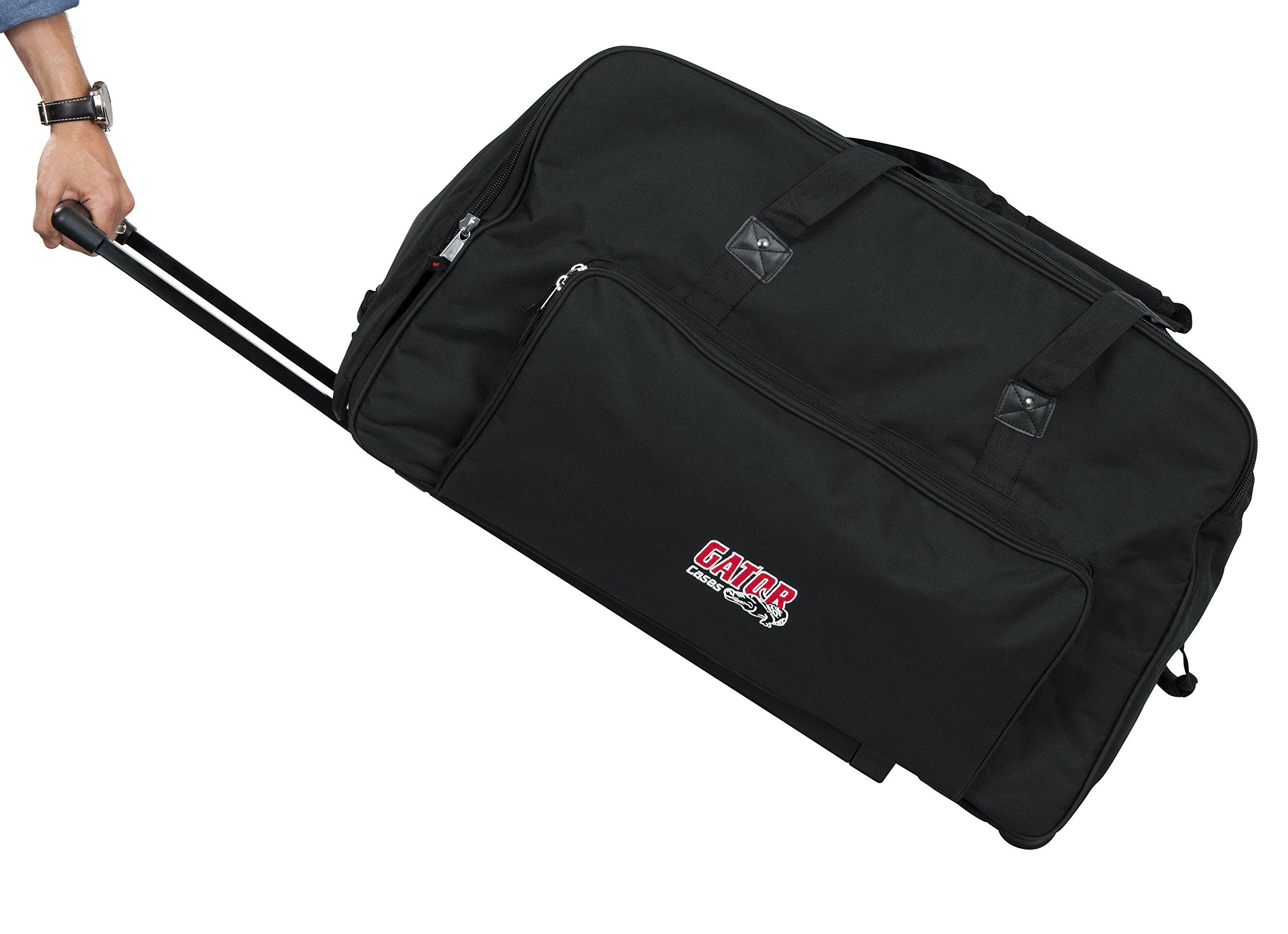 Gator Cases GPA-715 Rolling Speaker Bag for 15'' Loudspeakers