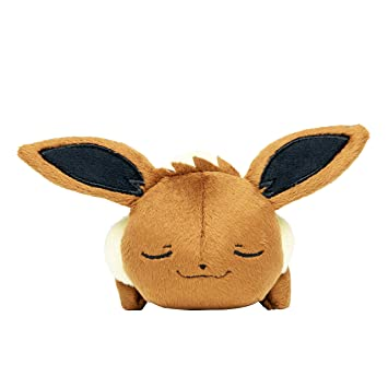 Pokemon Center Original Kuttari Stuffed Eevee Ver Good Night. by Pokemon Center