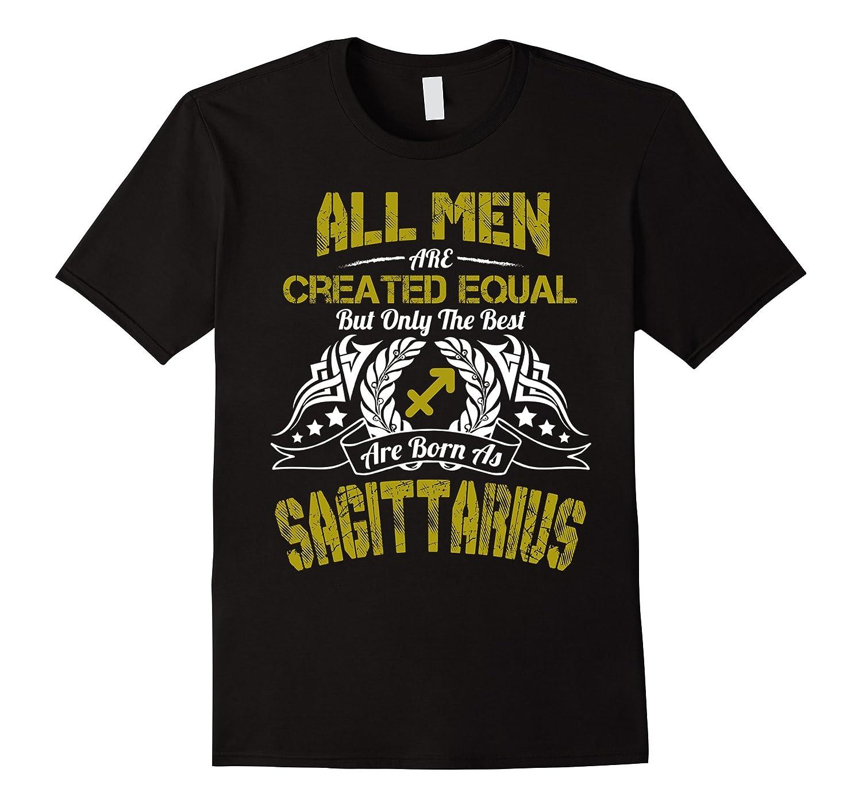 Funny Shirt The Best Men Are Born As Sagittarius Birthday