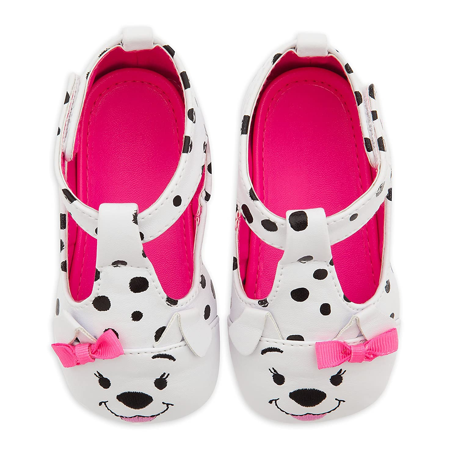 Disney 101 Dalmatians Crib Shoes for Baby,Multi,6-12 MO