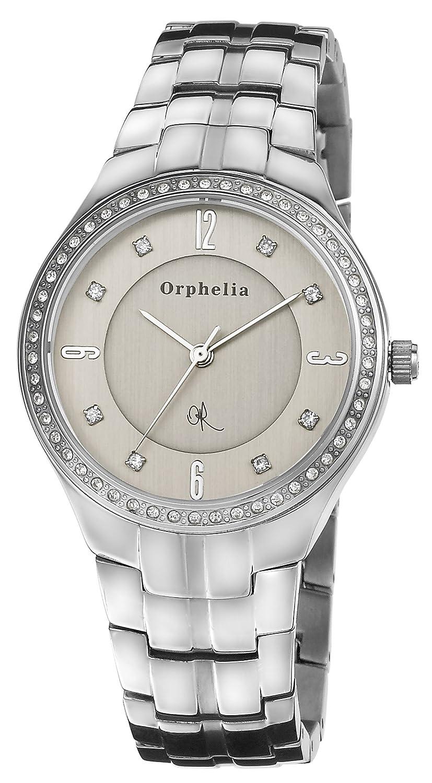 Orphelia Damen-Armbanduhr XS Analog Quarz Edelstahl