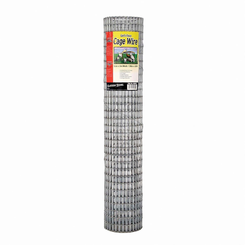 Amazon.com : 3 Inch x 2 Inch Mesh 16 Gauge Galvanized Economy Wire ...