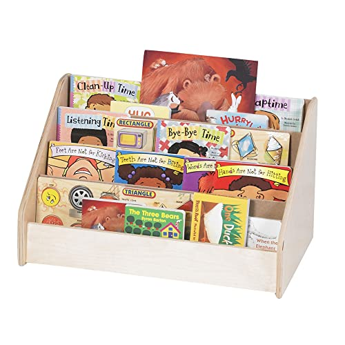 Children s Factory Angeles Toddler Low Book Display Stand