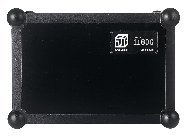 SOUNDBOKS 2 Altavoz portátil Bluetooth (volumen de 122db, carcasa resistente, duración media de la batería: 40h) - Black Edition: Amazon.es: Electrónica