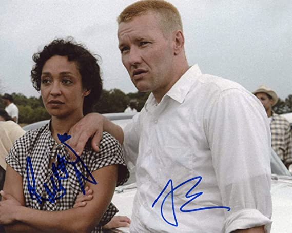 Entertainment Memorabilia Ruth Negga & Joel Edgerton Loving Hand Signed 8x10 Photo Autographed Coa Photographs