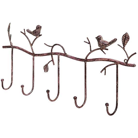 Amazon.com: Decorativo rústico, rama de árbol y pájaros ...