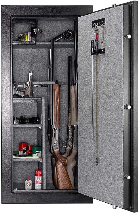 A558053. Buffalo River - Caja fuerte para armas digital premium, 22 armas: Amazon.es: Hogar