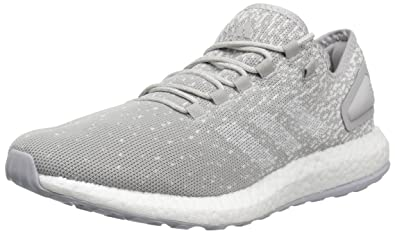 b7bceae570c681 adidas Men s Pureboost Reigning Champ m Running Shoe Grey Chalk White