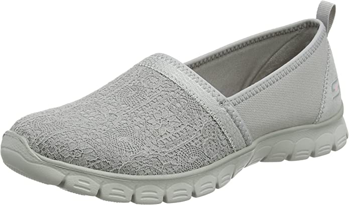 Skechers EZ Flex 3 Quick Escapade Sneakers Slip On Damen Grau
