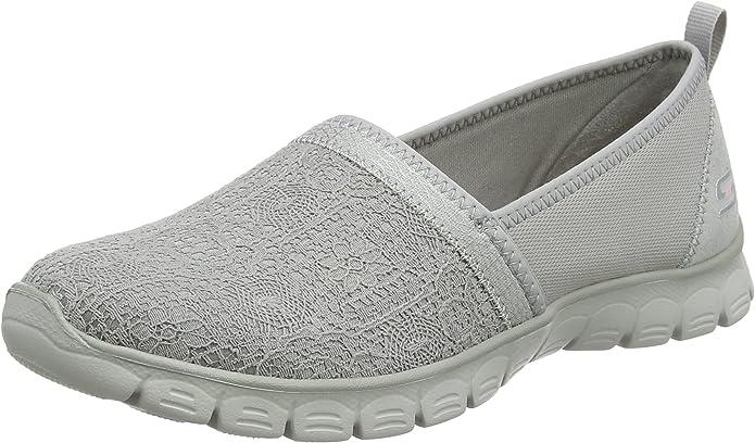 Skechers EZ Flex 3 Quick Escapade Sneakers Slip On Damen Grau