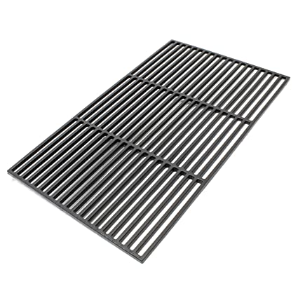 Rejilla grill parrilla hierro fundido cuadrada 60x40 cm ...