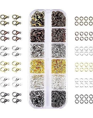 Angel Malone /® 100 Pieces of Designer Quality Rose Gold SPLIT RINGS Key Rings Jewellery Making Findings UK SELLER 8mm x 1.5mm