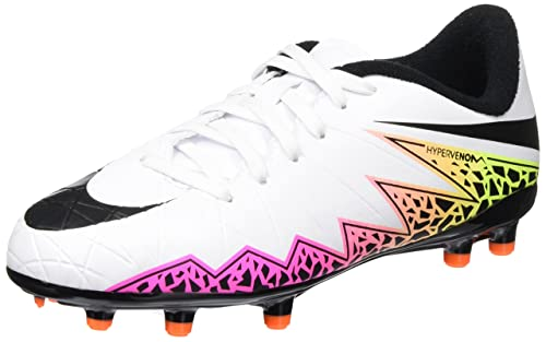 e1de957a638 Nike Unisex Jr Hypervenom Phelon Ii Fg White