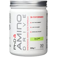 PhD Nutrition Amino Drive Supplement, Sour Apple, 300g