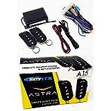 Scytek A15 Keyless Entry Car Alarm Security System, 2 Key Fob Remote Controls