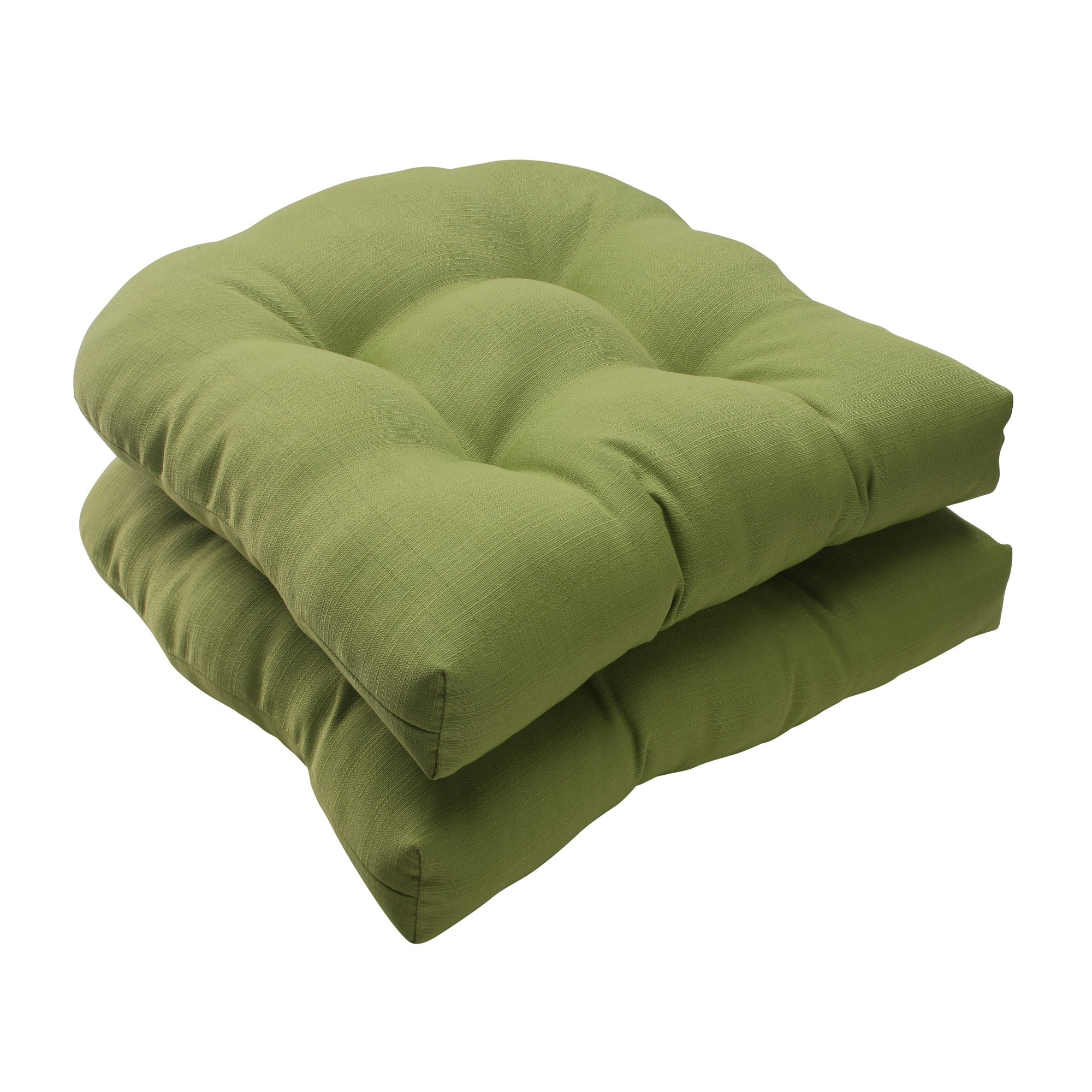 Pillow Perfect Indoor/Outdoor Forsyth Green Wicker